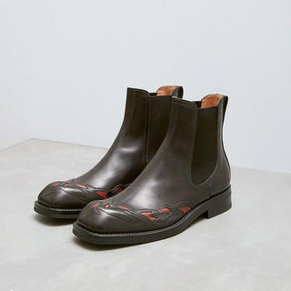 ドリスヴァンノッテン(DRIES VAN NOTEN)のdries van noten サイドゴア ブーツ 40【値段交渉可】(ブーツ)