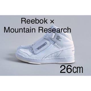 MOUNTAIN RESEARCH × Reebok ALIEN STOMPER