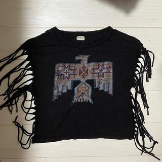 デニムアンドサプライラルフローレン(Denim & Supply Ralph Lauren)のフリンジTシャツ(Tシャツ(半袖/袖なし))