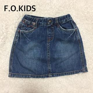 エフオーキッズ(F.O.KIDS)のF.O KIDSデニムスカート110㎝(スカート)
