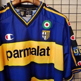 チャンピオン(Champion)のイタリア製 Champion × パルマAC 中田英寿 2003年 ユニフォーム(ウェア)