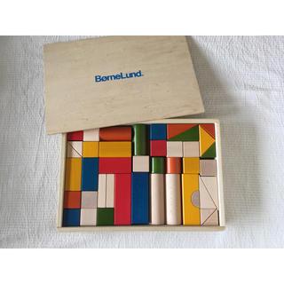 BorneLund - 美品☆ボーネルンド☆カラー積み木 つみき