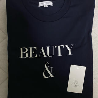 ビューティアンドユースユナイテッドアローズ(BEAUTY&YOUTH UNITED ARROWS)のBeauty&Youth 半袖ロゴTシャツ 即購入OKです(Tシャツ/カットソー(半袖/袖なし))