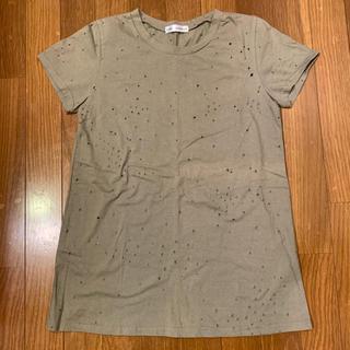 カウイジャミール(KAWI JAMELE)のKAWIJAMELE  ダメージTシャツ F(Tシャツ(半袖/袖なし))
