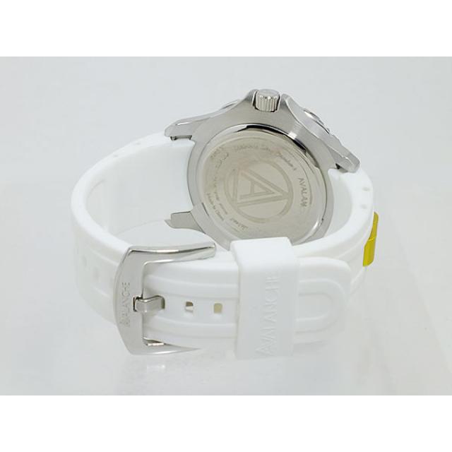AVALANCHE(アヴァランチ)のアバランチ AVALANCHE 腕時計 ライムグリーン×ホワイト ホワイト メンズの時計(腕時計(アナログ))の商品写真