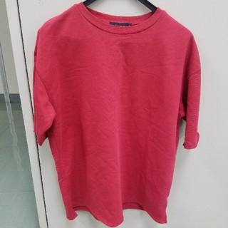 RAGEBLUE - RAGEBLUE Tシャツ.サイドスリット半袖スウェット