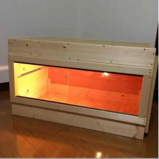 木製ケージ 900サイズ 爬虫類 フトアゴ  リクガメ アオジタ ハリネズミ(爬虫類/両生類用品)