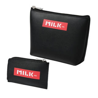 ミルクフェド(MILKFED.)のsmart 2020年6月号増刊号 MILKFEDポーチ&カードケース2点セット(その他)