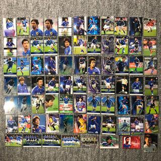 アディダス(adidas)の77枚 サッカー日本代表 サムライブルー カード レア サイン入り 限定(スポーツ選手)
