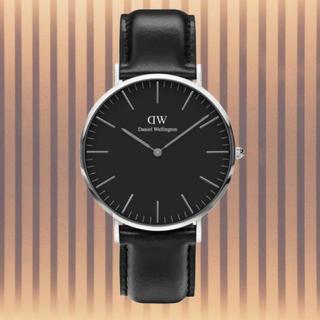 ダニエルウェリントン(Daniel Wellington)の安心保証付き【40㎜】ダニエルウエリントン 腕時計〈DW00100133〉(腕時計(アナログ))