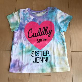 ジェニィ(JENNI)のシスタージェニー Tシャツ 90(Tシャツ/カットソー)