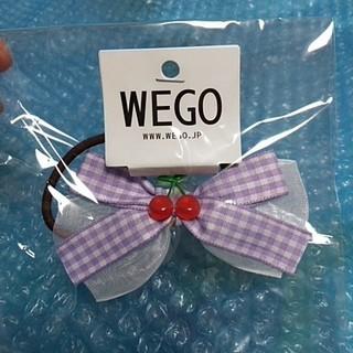 ウィゴー(WEGO)の★さくらんぼとリボンのヘアゴム(ヘアゴム/シュシュ)