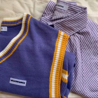 韓国 ベストシャツ セット