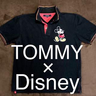 TOMMY × Disney(ミッキー) コラボポロシャツ
