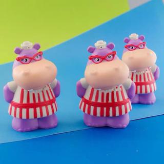 ディズニー(Disney)の河馬かばフィギュア人形モバイルカバーDIY用品ハンドメイド(人形)