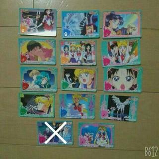 セーラームーン(セーラームーン)の【美品】美少女戦士セーラームーンSS カード 14種 当時物(カード)