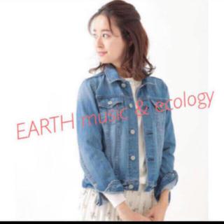 アースミュージックアンドエコロジー(earth music & ecology)のデニムジャケット(Gジャン/デニムジャケット)