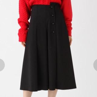 ハレ(HARE)のアシメプリーツスカート(ひざ丈スカート)