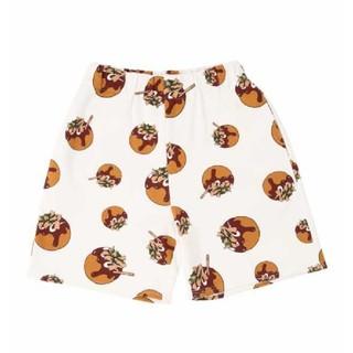 プニュズ(PUNYUS)のあや様専用プニュズ たこ焼き総柄スウェットショートパンツ(ショートパンツ)