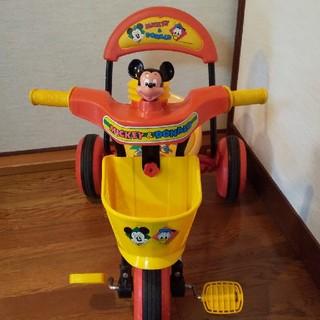 ミッキーマウス(ミッキーマウス)のディズニーミッキー三輪車(三輪車)