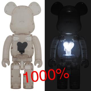 メディコムトイ(MEDICOM TOY)のBE@RBRICK EMOTIONALLY Black Heart 1000%(その他)