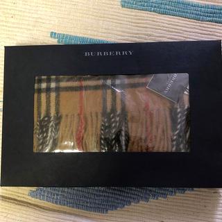 バーバリー(BURBERRY)のバーバリー 新品マフラー イングランド製(マフラー/ショール)
