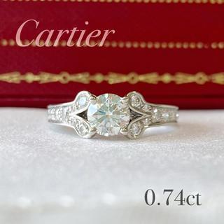 カルティエ(Cartier)の【専用】カルティエ バレリーナ 0.74ct 9号(リング(指輪))