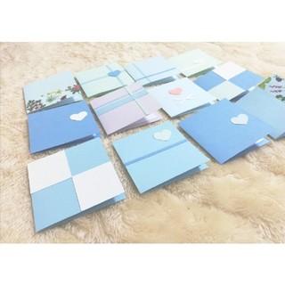 【ラスト1セット】ミニメッセージカード12枚✳手紙✳サンキューカード(カード/レター/ラッピング)