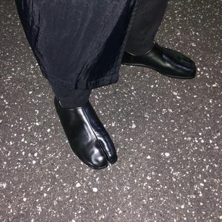マルタンマルジェラ(Maison Martin Margiela)のマルジェラ 足袋ブーツ 足袋バブーシュ(スリッポン/モカシン)