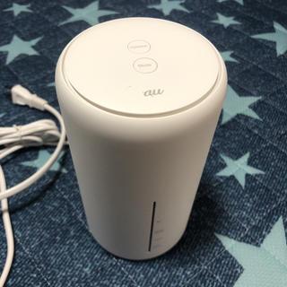 エーユー(au)のspeed Wi-Fi Home L02 au(PC周辺機器)