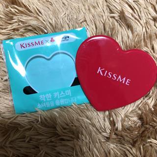 キスミー kissme ミラー 鏡 ミニ鏡 コンパクトミラー