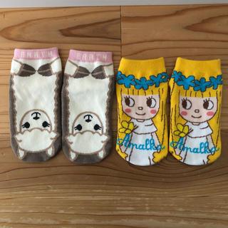 シマムラ(しまむら)の幼児靴下二枚セット バラ売り可(靴下/タイツ)