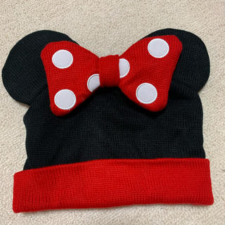 ディズニー(Disney)のミニー ディズニー ニット帽(ニット帽/ビーニー)