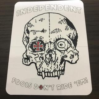 インディペンデント(INDEPENDENT)の【縦11.5cm横9cm 】independent ステッカー uk(スケートボード)