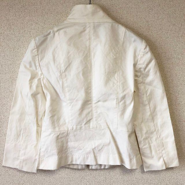 ANAYI(アナイ)の【人気】ANAYI/アナイ ジップアップジャケット ホワイト M レディース レディースのジャケット/アウター(ブルゾン)の商品写真
