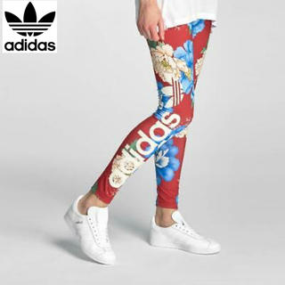 アディダス(adidas)のアディダス×ファームカンパニー 花柄 レギンス(レギンス/スパッツ)