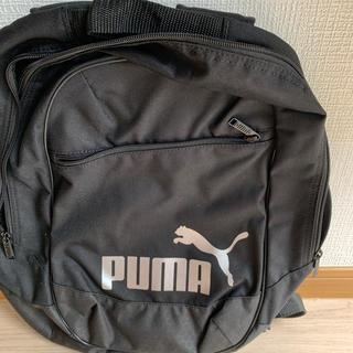 プーマ(PUMA)のプーマリュック黒(リュック/バックパック)