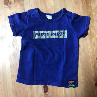 パーティーパーティー(PARTYPARTY)のパープルTシャツ80(シャツ/カットソー)