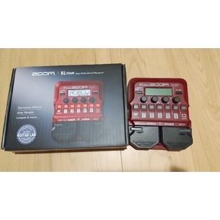 ズーム(Zoom)のzoom b1 four 美品 4月に新品購入(ベースエフェクター)