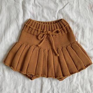キャラメルベビー&チャイルド(Caramel baby&child )の2020SS misha and puff ニットスカート(スカート)
