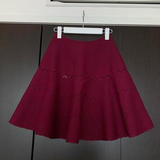 アズディンアライア(Azzedine Alaïa)の新品未使用*Alaia フレアスカート 36(ミニスカート)