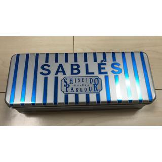 シセイドウ(SHISEIDO (資生堂))の資生堂パーラー サブレ缶 空き缶(容器)
