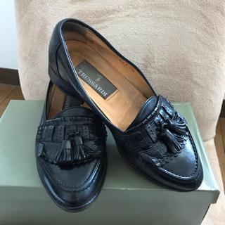 トラサルディ(Trussardi)のTRUSSARDI  トラサルディ 靴 サイズ23.5(スリッポン/モカシン)
