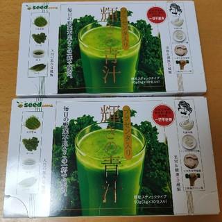 プラセンタ入り青汁、60回分(3g×30包×2箱)(青汁/ケール加工食品)