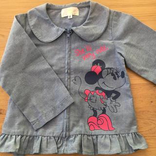 ディズニー(Disney)のミニー薄手アウター (ジャケット/コート)