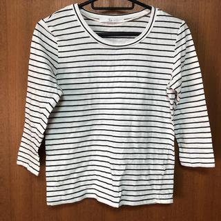 ケービーエフ(KBF)のKBF ボーダー七分袖Tシャツ(Tシャツ(長袖/七分))