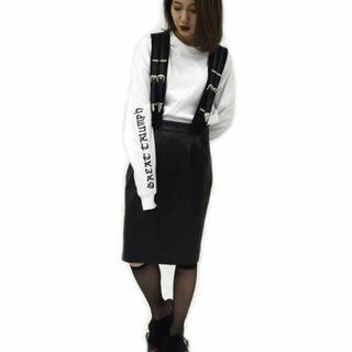 カウイジャミール(KAWI JAMELE)のバックルサスペンダースカート KAWI JAMELE(ひざ丈スカート)