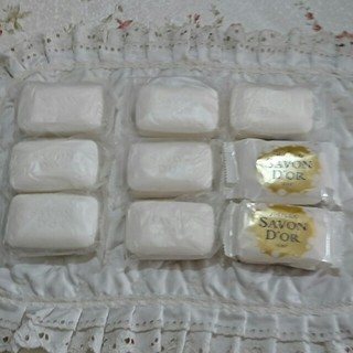 シセイドウ(SHISEIDO (資生堂))の資生堂石鹸 サボンドール「9個」(ボディソープ/石鹸)