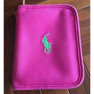 ラルフローレン(Ralph Lauren)のラルフローレン 母子手帳ケース ピンク 正規店購入(母子手帳ケース)