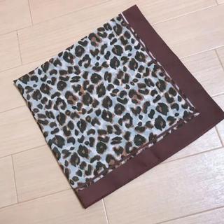 ローリーズファーム(LOWRYS FARM)のレオパード柄スカーフ(バンダナ/スカーフ)